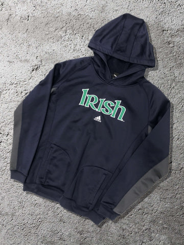 Vintage Adidas Irish Hoodie - Medium