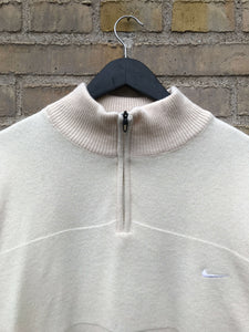 Vintage Nike GOLF Half-Zip Strik - XL