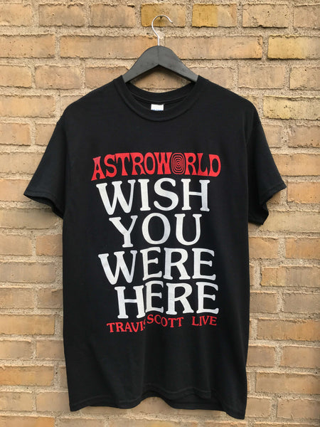 Travis Scott Astroworld t-shirt - Medium