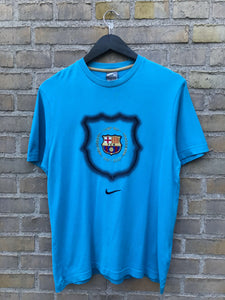 Vintage 2007 FC Barcelona Nike Centre Swoosh - Medium