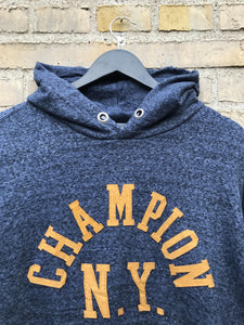 Vintage Champion New York Hoodie - XL