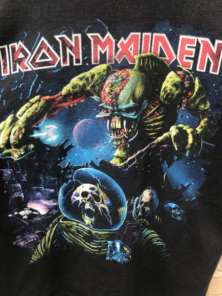 Vintage 2010 Iron Maiden T-Shirt - Medium