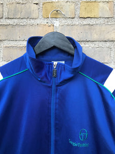 Vintage 90's Sergio Tacchini Tracktop - Large