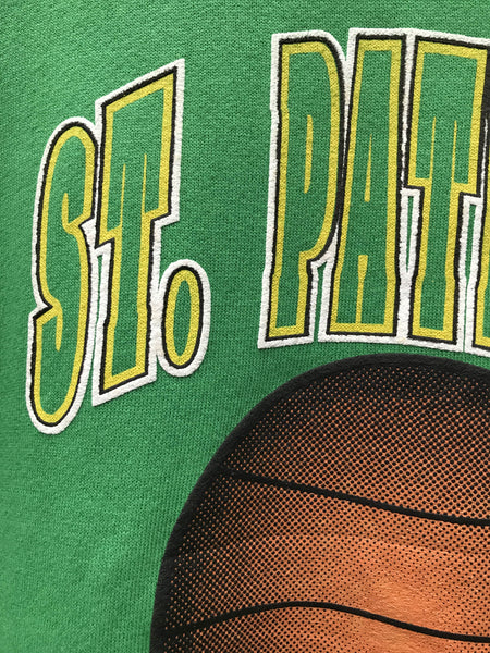Vintage St. Patrick's Basketball Sweatshirt - Medium