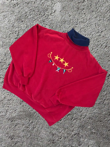 Vintage Flags Sweatshirt - XS