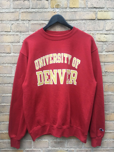 Vintage Champion Denver Sweatshirt, Medium