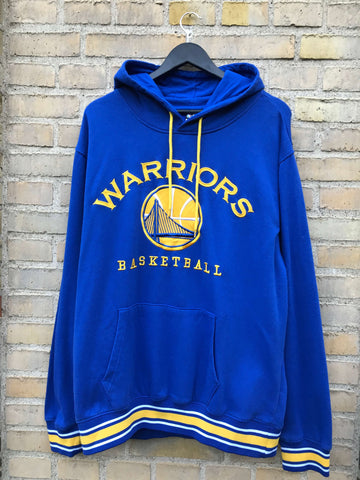 Vintage NFL Warriors Hoodie, Large