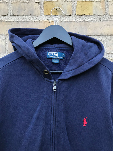 Vintage Polo Ralph Lauren Hoodie, Medium