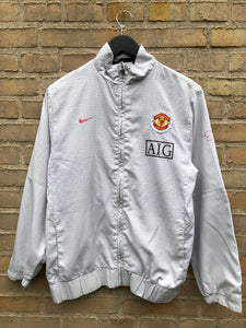 Vintage Manchester United Nike Tracktop - Small