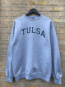 Vintage Champion Tulsa Sweatshirt, Large