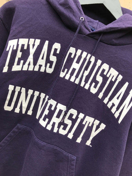 Vintage Champion Texas University Hoodie, Small