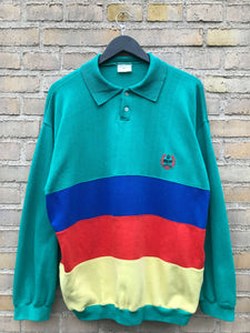 Vintage Longsleeve Polo, Medium
