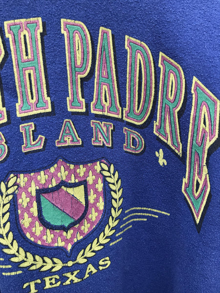 Vintage South Padre Texas Sweatshirt - Medium