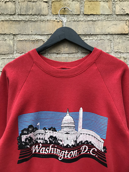 Vintage Washington DC Sweatshirt - Medium