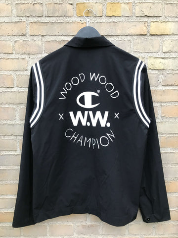 Wood Wood x Champion Jakke, Medium