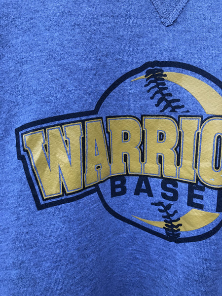 Vintage Warrior Baseball Sweatshirt - XL
