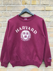 Vintage Champion Harvard Sweatshirt, Small
