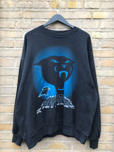 Vintage 1993 Carolina Panthers Sweatshirt - XL