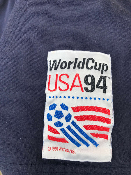 Vintage 1994 Adidas World Cup USA Polo - Large