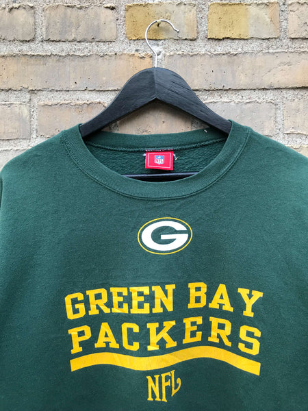 Vintage NFL Green Bay Packers Sweatshirt, Medium