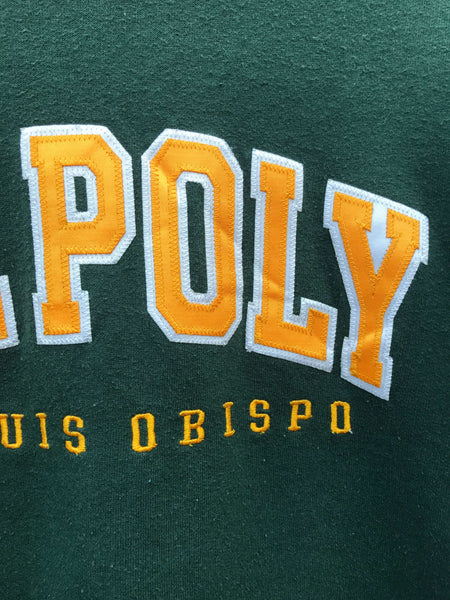 Vintage Champion Cal Poly Sweatshirt - Small