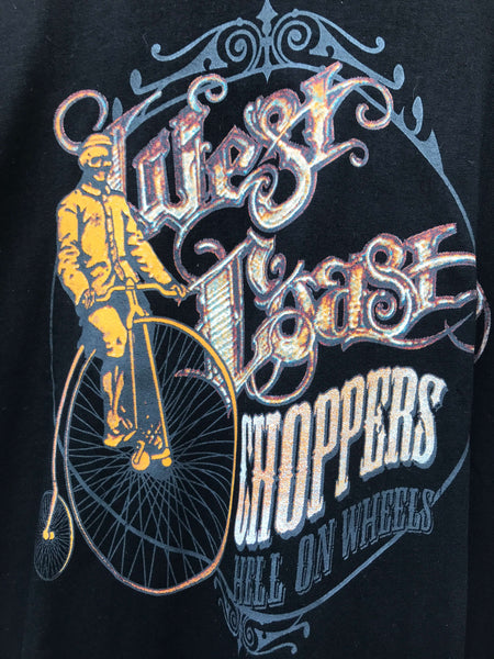 Vintage West Coast Choppers T-Shirt - Large