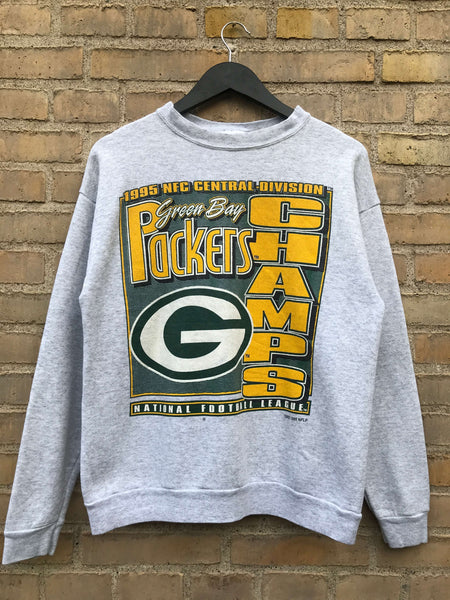 Vintage 1995 Green Bay Packers Sweatshirt - Medium
