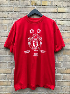 Vintage 1999 Manchester United T-Shirt - Large