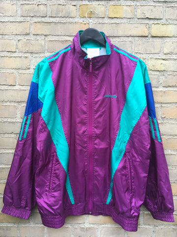 Vintage 80's Adidas Trackjacket, Medium