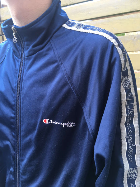 Vintage Champion Full Tracksuit, Large