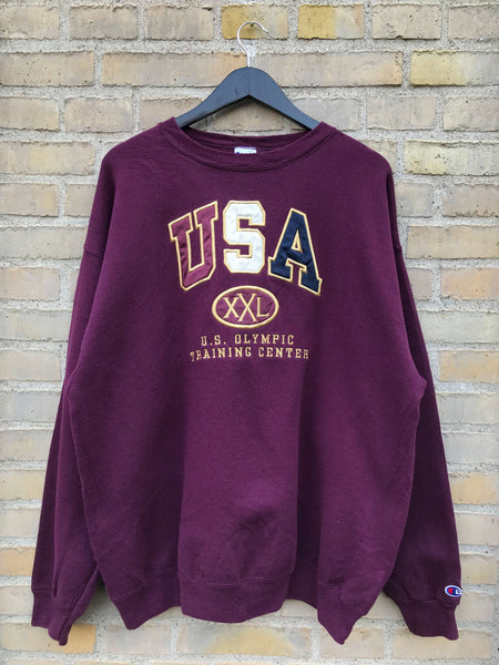 Vintage 90's Champion USA Sweatshirt - XL
