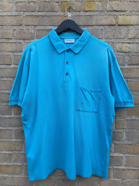 Vintage 80's Yves Saint Laurent Polo - Large