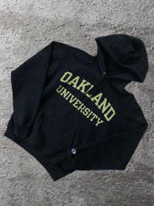 Vintage Champion Oakland Hoodie - Small