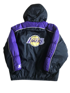 Vintage LA Lakers Vinterjakke - Small