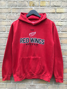 Vintage Detroit Red Wings Hoodie - Small