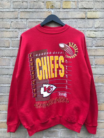 Vintage 1992 Kansas City Chiefs Sweatshirt - Large
