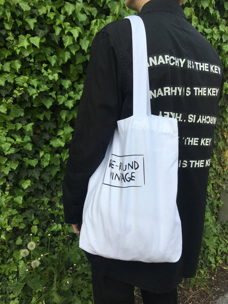RE-ROUND VINTAGE Totebag @ Earth Positive