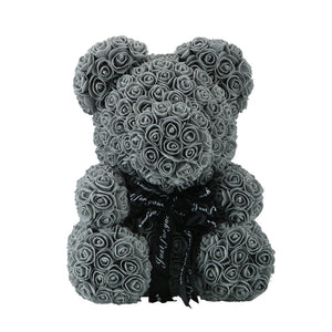 Big Handmade Rose Teddy Bear