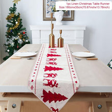 Load image into Gallery viewer, Christmas Bathroom Decor Door Hangings And Table Runners