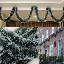 "Load image into Gallery viewer, Christmas Decoration Bar Tops 6'56"" (2M) & Ribbon Garland Christmas Tree Ornaments"