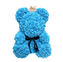 Load image into Gallery viewer, Big Handmade Rose Teddy Bear