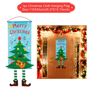 Christmas Bathroom Decor Door Hangings And Table Runners