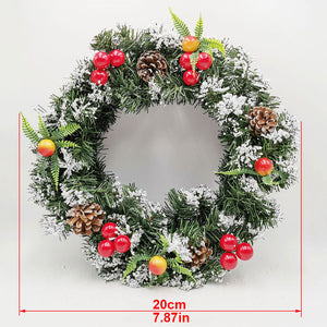 Christmas Decorations Wreath Garland And Rattan