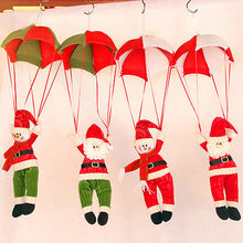 Load image into Gallery viewer, Christmas Tree Hanging Decor Parachute Snowman Santa Claus Ornaments Xmas