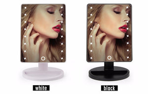 LED Touch Screen Makeup Mirror