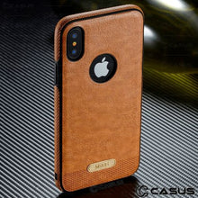 Load image into Gallery viewer, Leather iPhone case