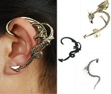 Load image into Gallery viewer, Game of Thrones Dragon Ear Studs Earrings