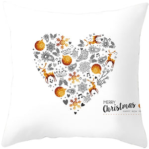 Cushion Cover Christmas & New Year Decorations for Home