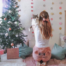 Load image into Gallery viewer, Cute Cat Meow Pajamas Set