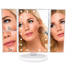 Load image into Gallery viewer, LED Touch Screen Makeup Mirror